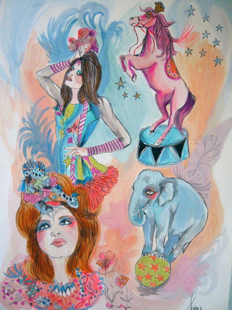 Circuspony:girls
