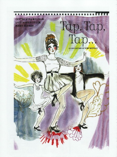 The Moldy Doily: TAP Tap TAP