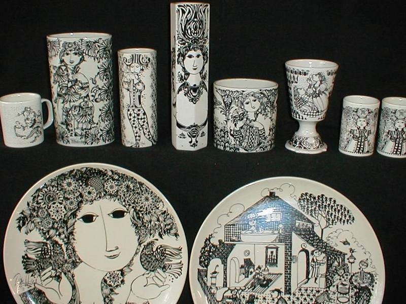 grågrøn bjørn i keramik